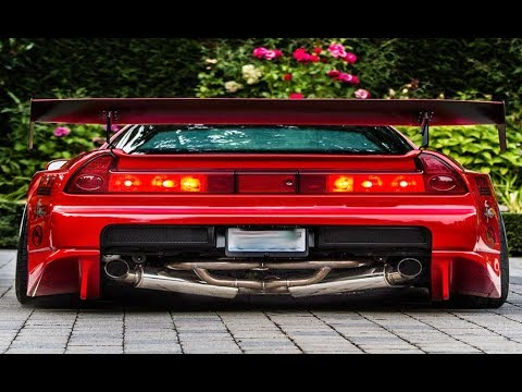 EPIC HONDA NSX EXHAUST SOUNDS!