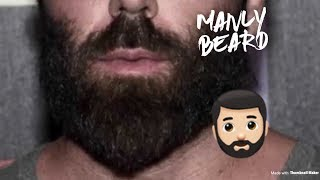 How to grow a MANLY beard FAST!