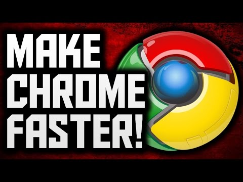 "how to Speed UP Google Chrome Faster (""2015 Sep"") 