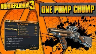 Borderlands 3 | One Pump Chump Legendary Weapon Guide (One Punch Easter Egg!)
