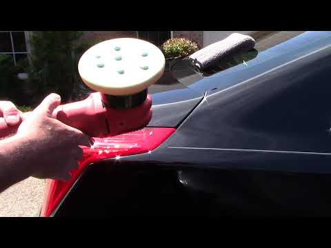 How To Polish Hot Paint In The Sun!