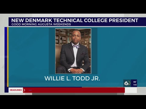 New president at Denmark Technical College named