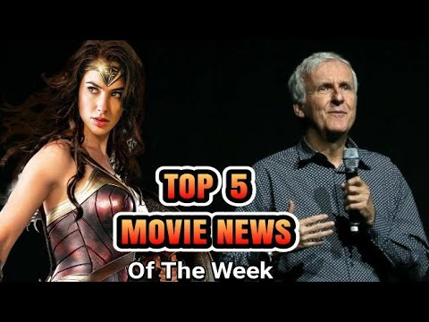 """James Cameron Comments on """"Wonder Woman"""", Joss Whedon Credited As Writer In JL - Top 5 Movie News"""