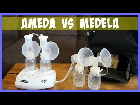 Medela Pump In Style vs Ameda Purely Yours Double Electric Breast Pump Comparison Review