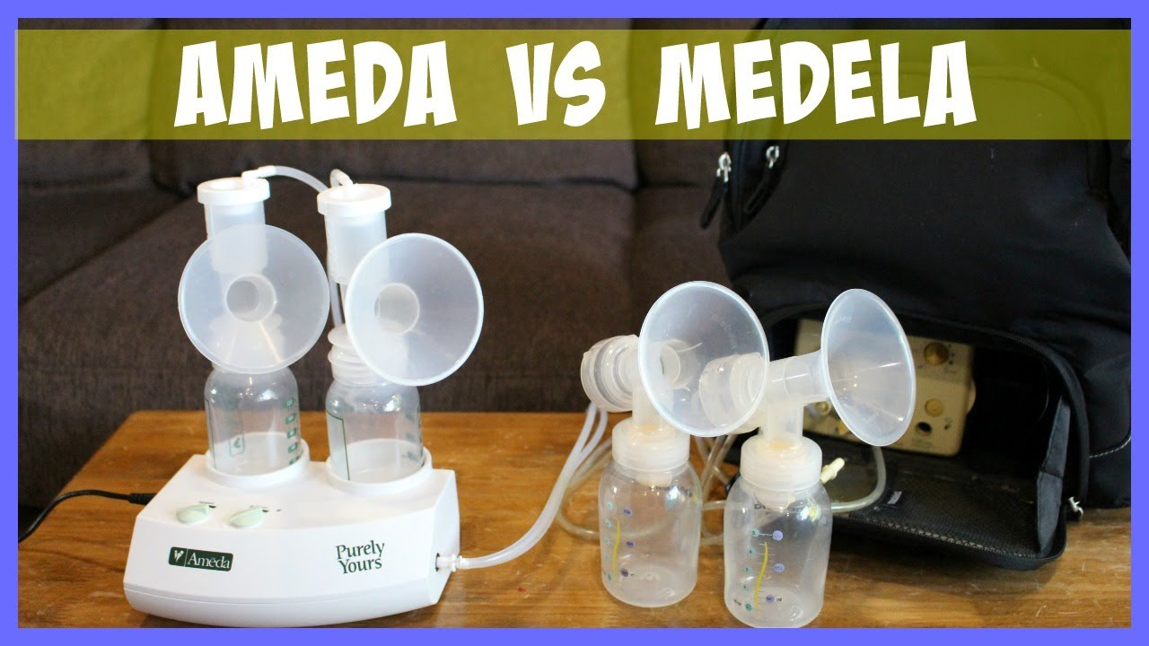 Medela Pump In Style Vs Ameda Purely Yours Double Electric -1208