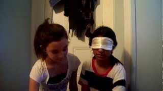 blindfolded makeup challange ft lupita