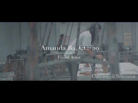 Meet Columbia University T-shirt painter Amanda Ba, CC '20