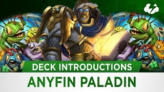 Hearthstone Deck Introductions | Wild: Anyfin Paladin! [Kobolds & Catacombs]