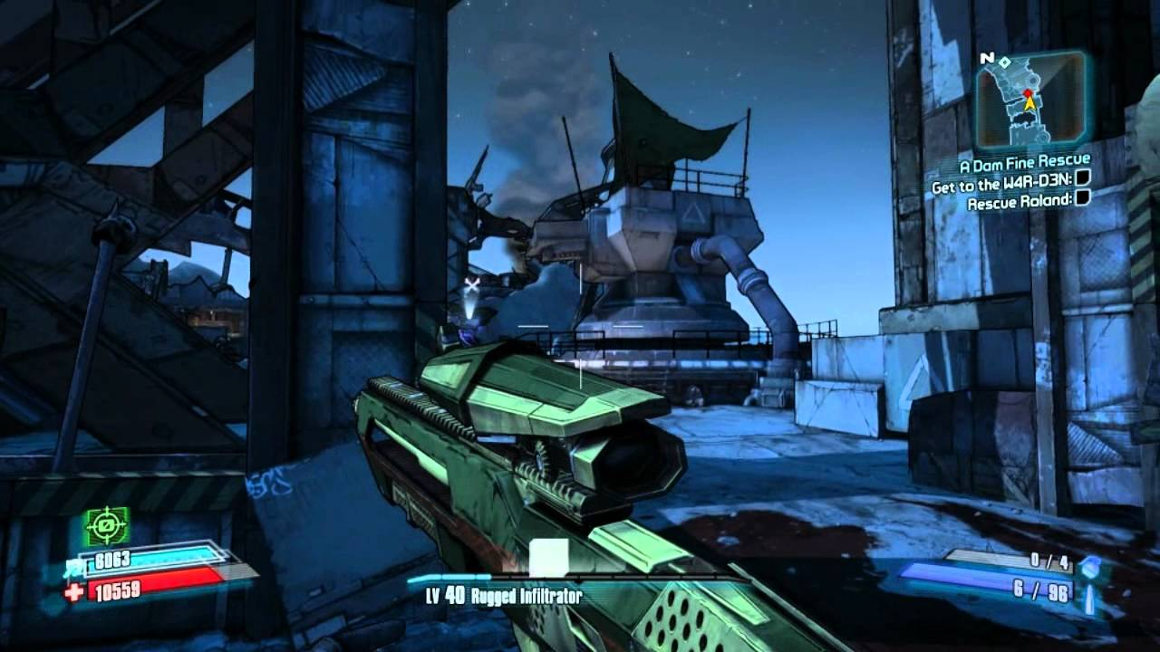 Borderlands 2 True Vault Hunter Mode Walkthrough Part 12  High Level Assassin Gameplay