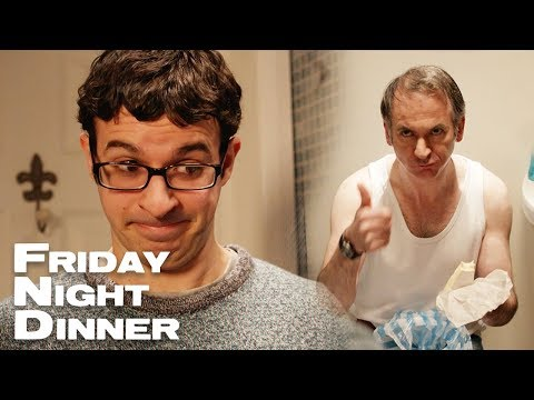 Eating Cheese In The Loo | Friday Night Dinner