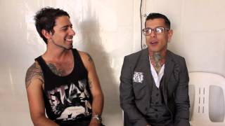 amh tv interview with danny leal from upon a burning body at soundwave festival 2014