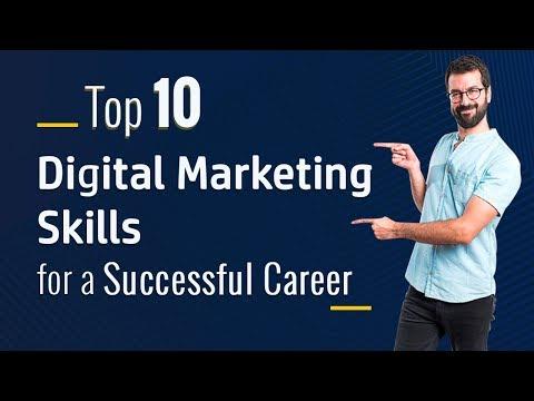 Top 10 Digital Marketing Skills for a Successful Career