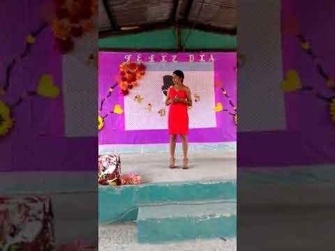 Karime cantado alas madres IMCAP
