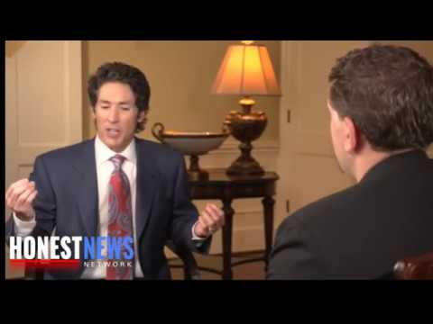 Joel Osteen Addresses His Critics In This Very Revealing Interview Must See
