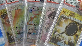 Pokemon PSA Graded Returns - Forbidden Light card quality is goooooooooooooooood