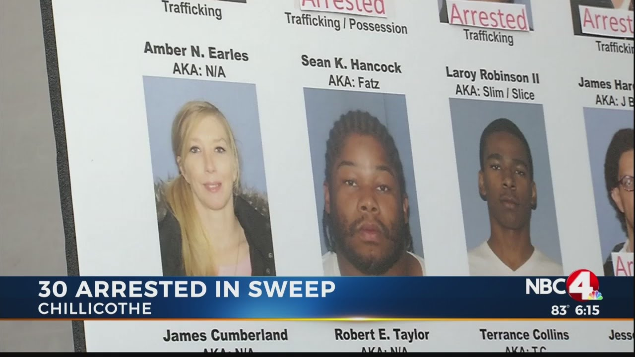 30 arrested in Ross County drug sweep