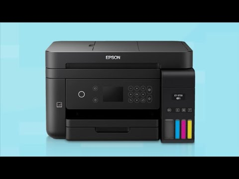 Epson WorkForce ET-3750 | Wireless Setup Using the Control Panel