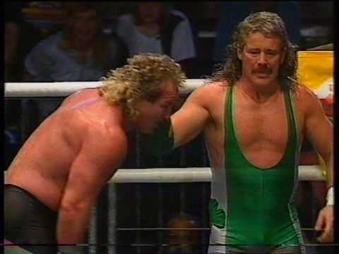 Cage Match: Tony St. Clair vs. Fit Finlay [1992-06-14]
