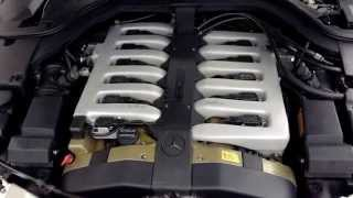 Mercedes-Benz V-12 engine sound