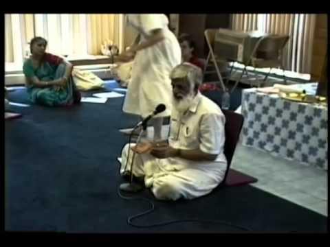 Sri  Amritananda Natha Saraswati of Devipuram Satsang - Love and the Four Traditions of Sri Vidya.