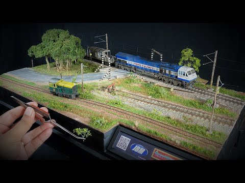 ULTRA-REALISTIC Diorama Art: Dual Gauge Railways, Country Road