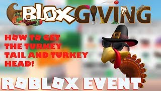 [ROBLOX EVENT] How to get the Turkey Tail and the Turkey Head! Design It!