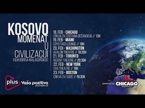 Plus Radio - Vaša pozitiva! :: Boris Malagurski - Kosovo Momenat u Civilizaciji :: NAJAVA FILMA