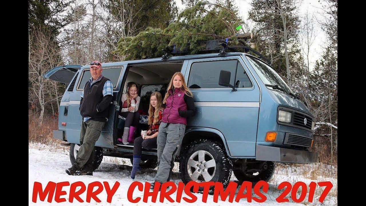 Volkswagen Vanagon Syncro Christmas Tree Hunting  Merry Christmas 2017