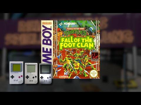 Gameplay : Turtles Fall of the Footclan [Gameboy]