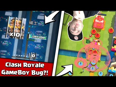 CLASH ROYALE BUGS UND GLITCHES!!! | CR GAME BOY BUG?! | Clash Royale deutsch