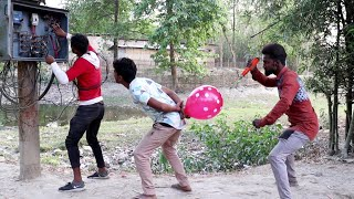 Must watch new funny comedy video 2021 Full Entertainment video   Bindas comedy