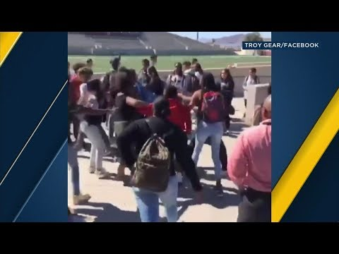 VIDEO: 5 West Valley High School students arrested after fight breaks out on campus | ABC7