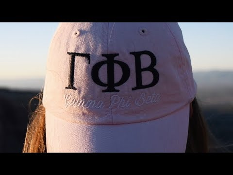 Gamma Phi Beta Colorado Mesa University Recruitment Video 2017