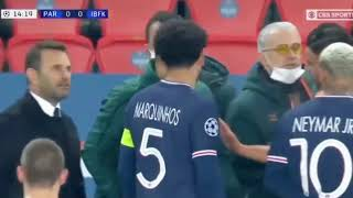 PSG vs Basaksehir referee says Negru or Negro Respect No to racism