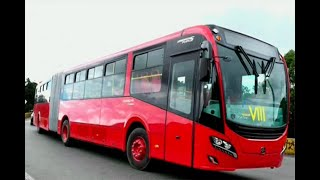 ¿Le gustan? Estos son los nuevos buses de Transmilenio | Noticias Caracol