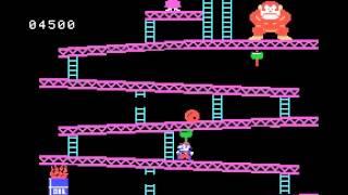 Donkey Kong - Donkey Kong (ColecoVision) - User video
