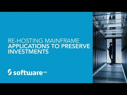 Re-Hosting Mainframe Applications to Preserve Investments