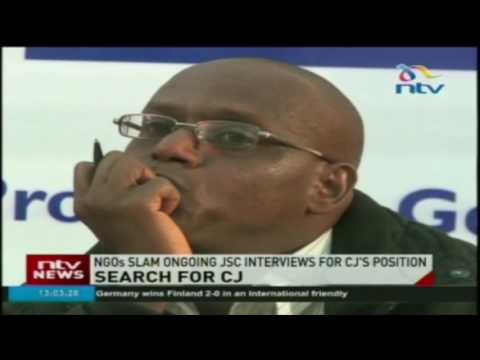NGOs slam ongoing JSC interviews for CJ's position