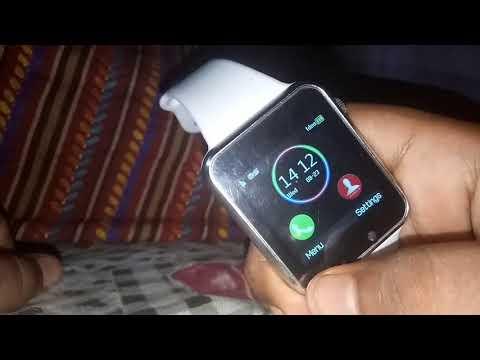 DA1 smartwatch unboxing & review