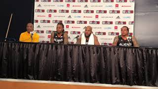 Big3: Aliens talking about their game