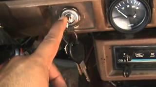 Conexión Tacometro Datsun 1800