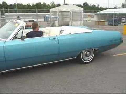 Chryslers At Carlisle >> Gil's 1969 Chrysler 300 convertible - Kanata Cruise - YouTube