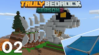 Fish Farm Shop... Bone Appetite | Truly bedrock S2 EP02
