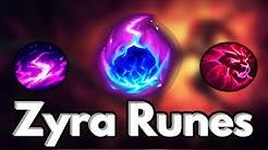 The BEST Zyra Support Runes Season 10 - League of Legends