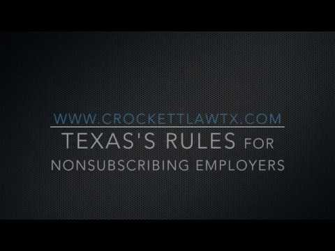Understanding Texas's Unique Workers' Compensation Laws