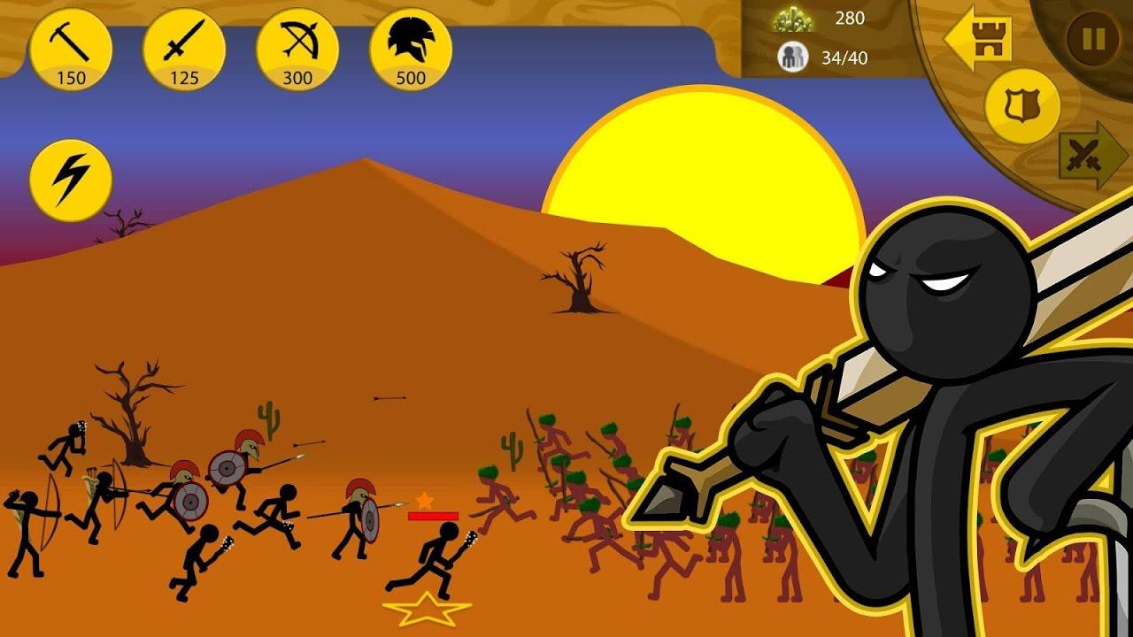 Stick War Legacy (Çöp Adam Savaşları)  Mobil Savaş Oyunu Part2