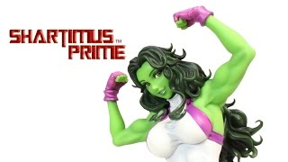 Kotobukiya She-Hulk Marvel Bishoujo Statue Review