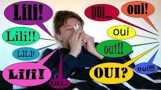 YES MAN CHALLENGE : Gabin est malade... Lili dit oui à tout!!!