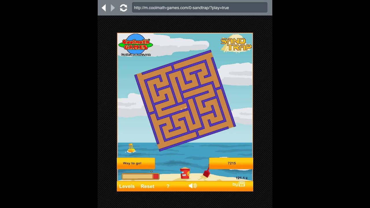 Sand Trap - Cool Math Games