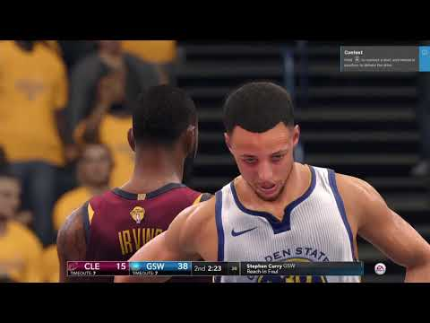 NBA LIVE 18 - 100 POINTS WITH STEPHEN CURRY ON SUPERSTAR DIFFICULTY